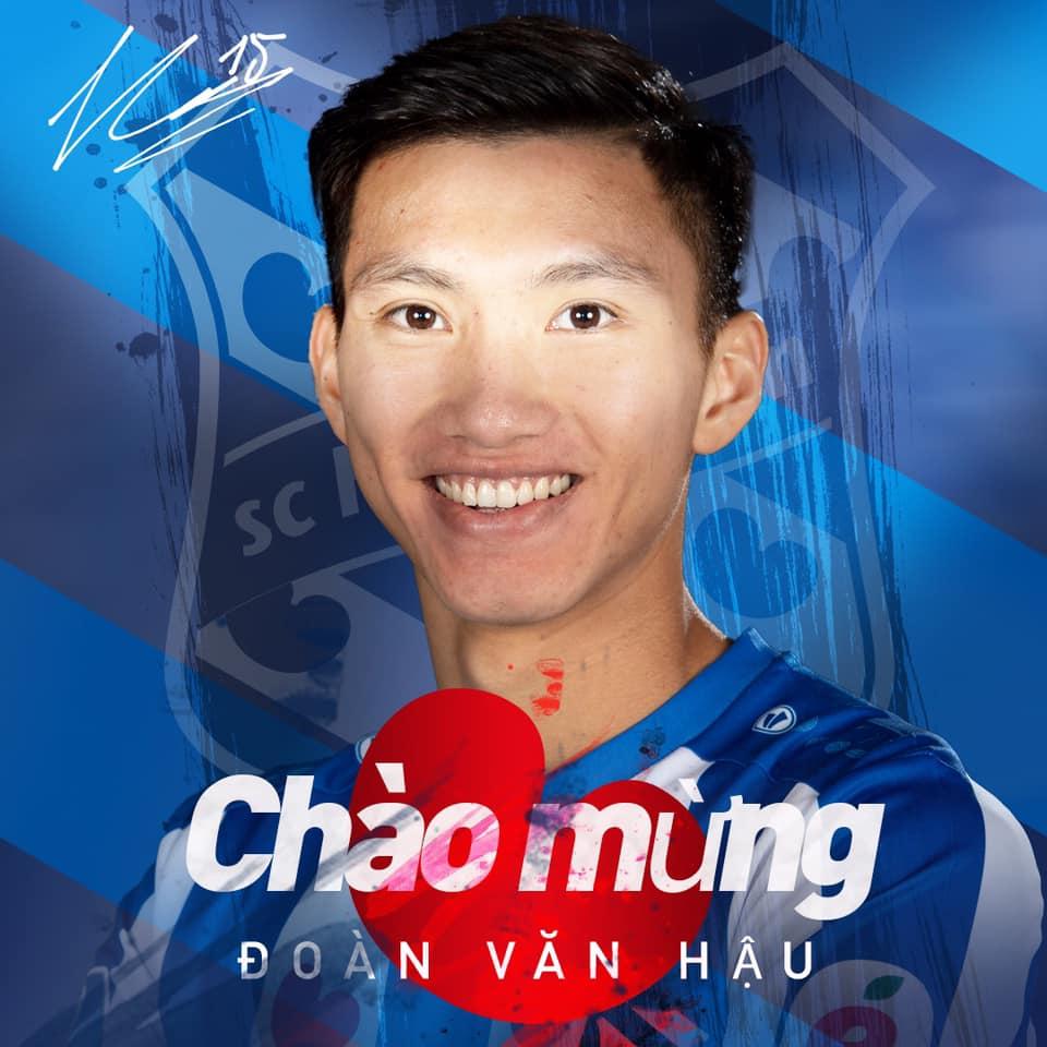 XONG! Đoàn Văn Hậu chính thức gia nhập SC Heerenveen, khoác áo số 15 - Bóng Đá