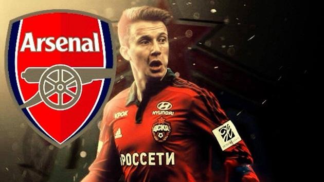 Tiếp đà hưng phấn, Arsenal chuẩn bị thâu tóm mục tiêu từ CSKA Moscow - Bóng Đá