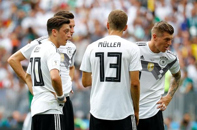 Đi tìm nguyên nhân thất bại của Đức trước Mexico