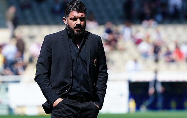 HLV Gennaro Gattuso đứng trước nguy cơ