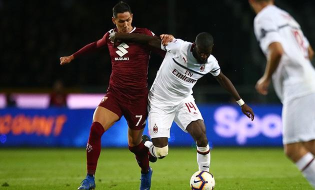 Thất bại trước Torino, AC Milan bị đánh văng khỏi top 4 - Bóng Đá