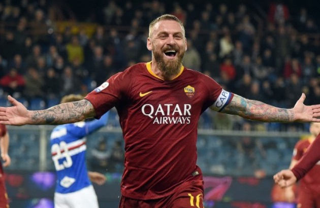 Rời AS Roma, De Rossi cay đắng thừa nhận sự thật phũ phàng - Bóng Đá
