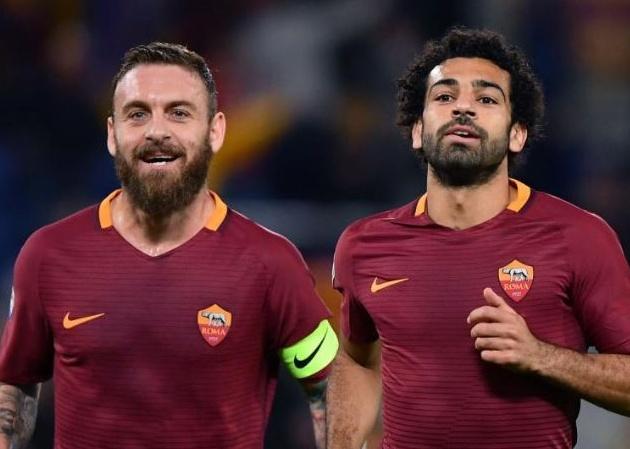 Salah nói lời cảm động dành cho De Rossi  - Bóng Đá