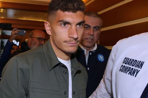 (Ảnh) Napoli đón Di Lorenzo - Bóng Đá