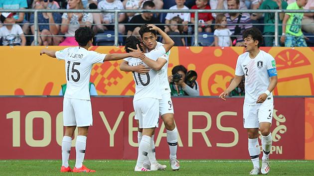 Đánh bại hàng xóm, Hàn Quốc giành quyền vào tứ kết U20 World Cup. - Bóng Đá