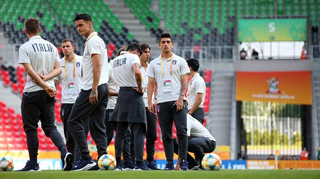 Ảnh: U20 Ý - U20 Mali - Bóng Đá