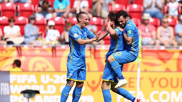 Hạ gục Colombia, U20 Ukraine tiếp tục viết nên câu chuyện cổ tích - Bóng Đá