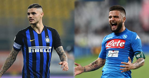 Inter đề nghị Napoli đổi 'kẻ nổi loạn' lấy ngôi sao chạy cánh người Ý - Bóng Đá