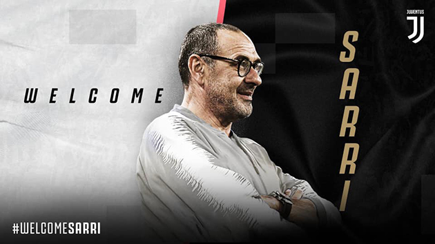 OFFICIAL | Maurizio Sarri is the new Juventus coach. #WelcomeSarri - Bóng Đá