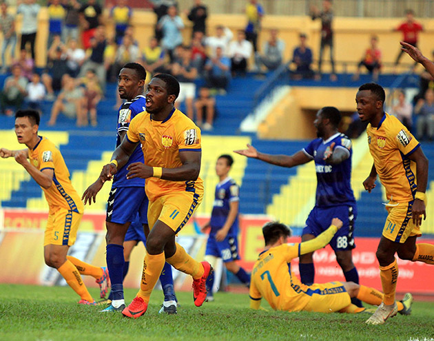 Thanh Hóa và màn lột xác thần kỳ ở giai đoạn lượt đi V.League 2019 - Bóng Đá