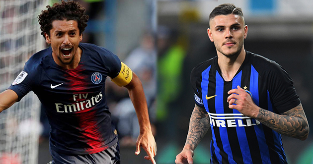 Sarri wants Marquinhos and Icardi - Bóng Đá