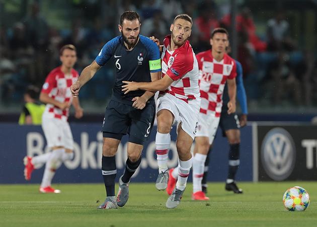 ảnh U21: Pháp - Croatia - Bóng Đá