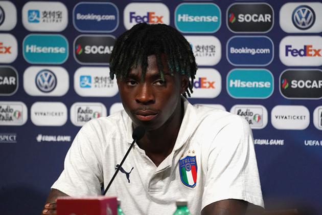 Sao trẻ Juventus phát biểu