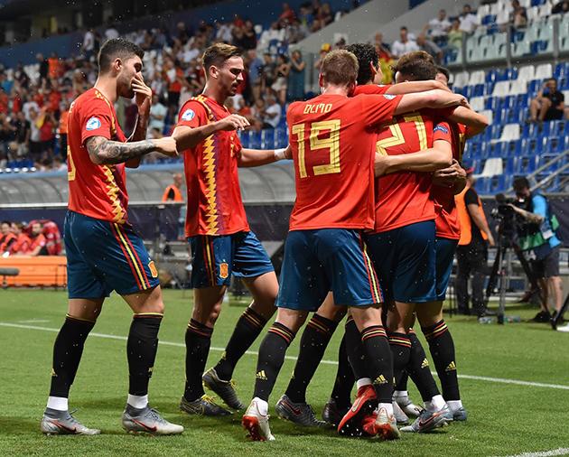 ảnh U21: Tây Ban Nha - Pháp - Bóng Đá