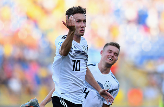Ảnh: Đức vào CK U21  - Bóng Đá