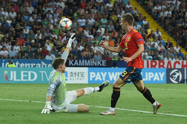 ảnh: chung kết U21 châu Âu - Bóng Đá