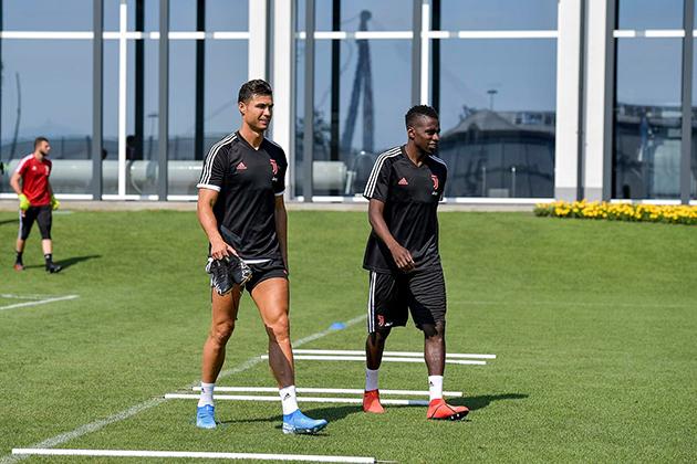 Sau tất cả, ngôi sao lớn nhất của Juventus đã xuất hiện - Bóng Đá
