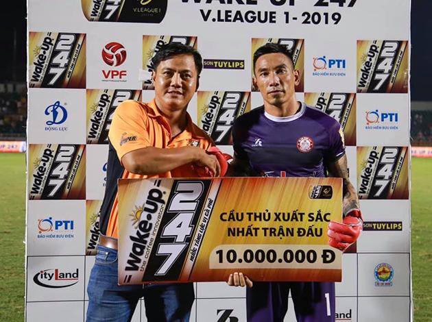 Thủ thành Nguyễn Thanh Thắng: Hồi sinh cùng CLB TPHCM - Bóng Đá