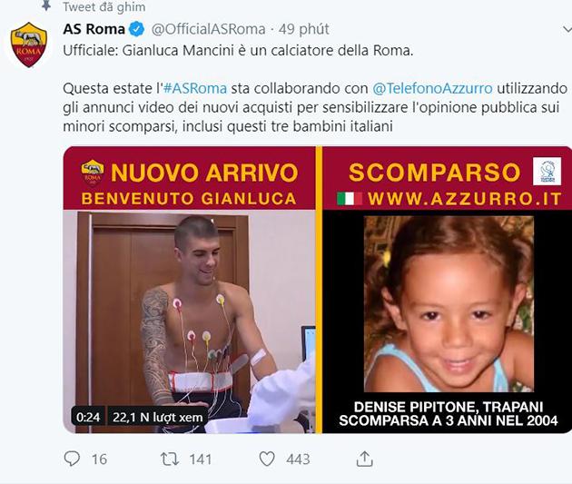 CHÍNH THỨC: AS Roma ký hợp đồng cựu trung vệ Atalanta - Bóng Đá