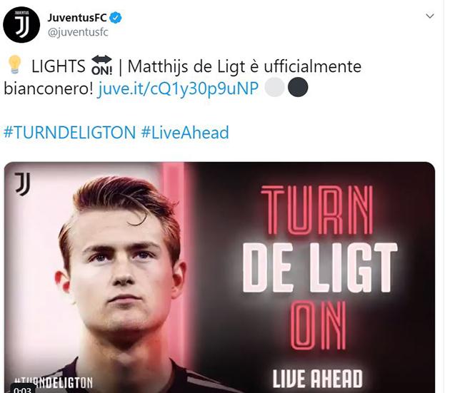 CHÍNH THỨC: De Ligt gia nhập Juventus - Bóng Đá