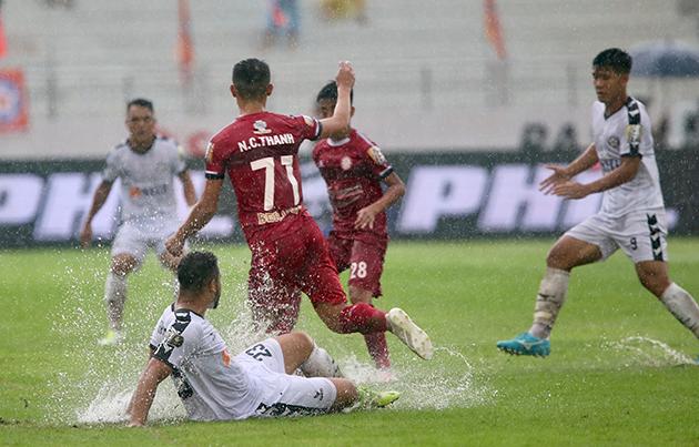 ĐKVĐ Hà Nội mất điểm 2 vòng liên tiếp: Cầm vàng lại để rơi vàng - Bóng Đá