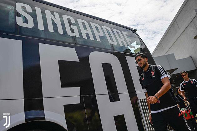 Ảnh: Dàn sao 'khủng' Juventus đã đến SIngapore - Bóng Đá