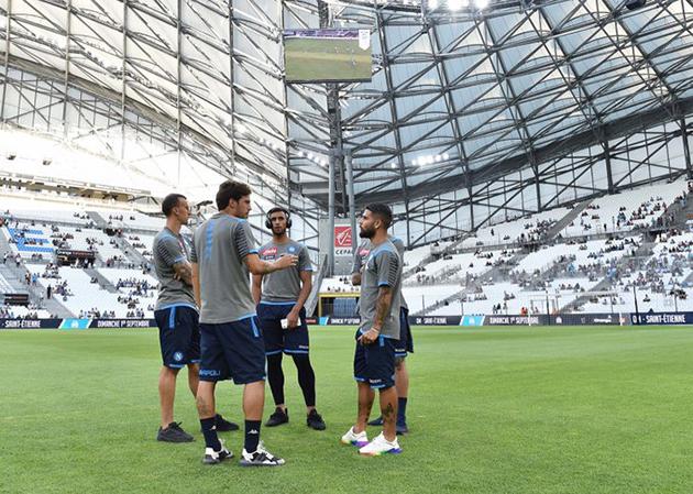 Napoli Marseille ảnh trận - Bóng Đá
