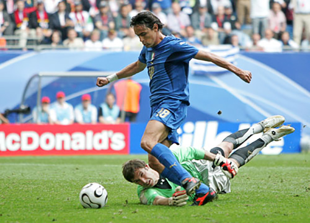 Filippo Inzaghi: 'Vua việt vị' số một của bóng đá thế giới - Bóng Đá