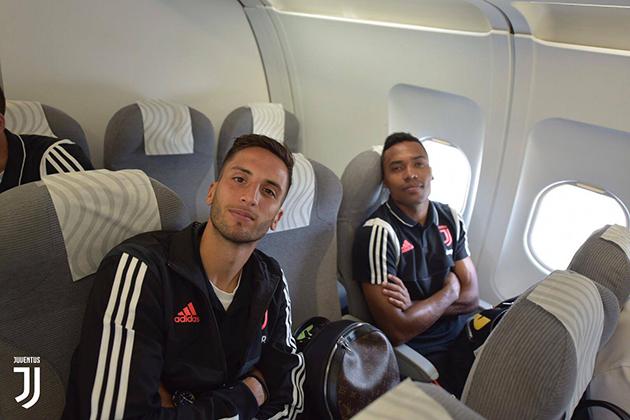 ảnh: Juventus tới Thụy Điển trước trận - Bóng Đá
