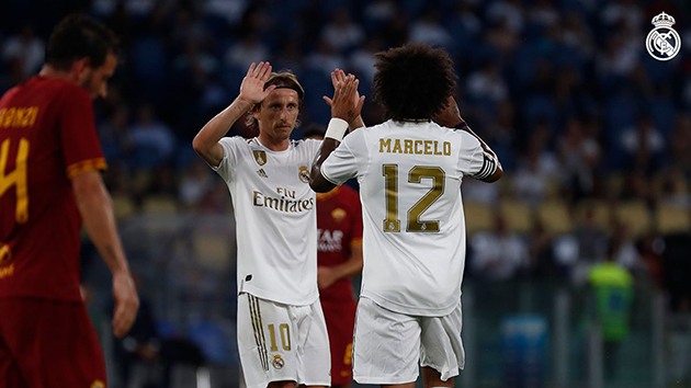 ảnh trận Roma - Madrid - Bóng Đá