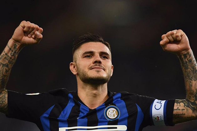 Report: Icardi picks Inter No 7 - Bóng Đá