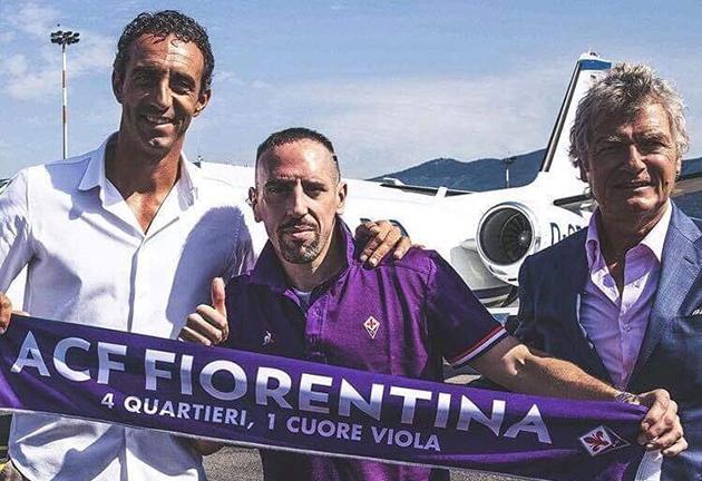 NÓNG! 'Gã mặt sẹo' đã đến Ý (Ribery)  - Bóng Đá