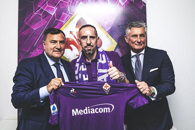 CHÍNH THỨC: Fiorentina công bố bản hợp đồng Franck Ribery - Bóng Đá