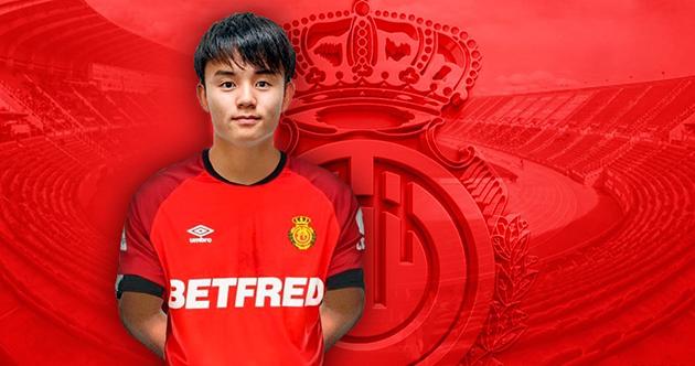 CHÍNH THỨC: Real Madrid cho Mallorca mượn 'Messi Nhật Bản'  - Bóng Đá