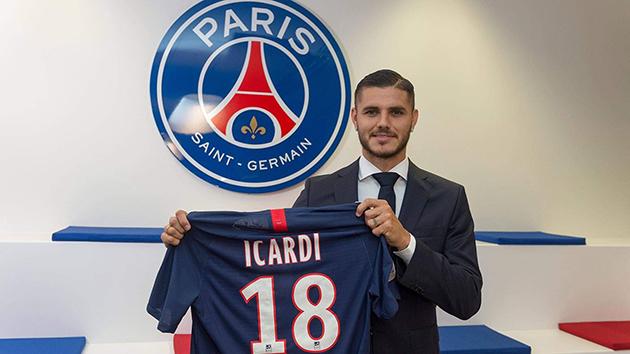 CHÍNH THỨC: Icardi => PSG - Bóng Đá