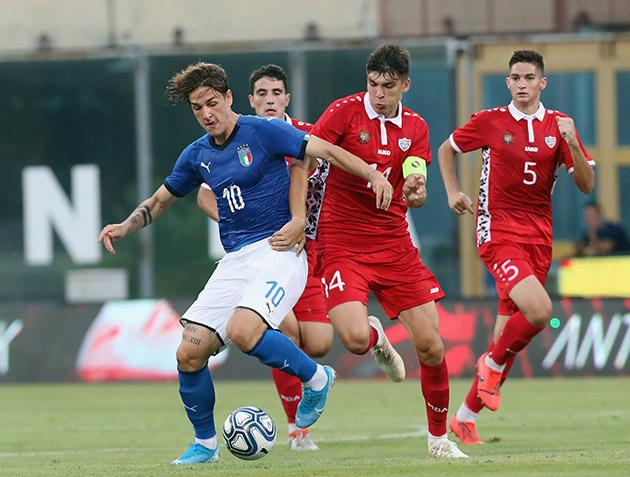 ành trận U21 Ý - U21 Moldova - Bóng Đá