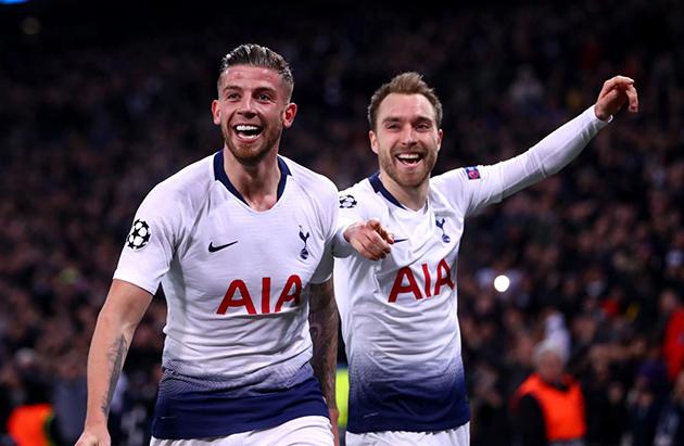 Juve aim for Spurs pair? (Christian Eriksen and Toby Alderweireld)  - Bóng Đá