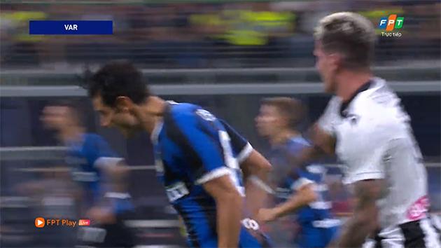 'Tội đồ' De Paul khiến Udinese thua tức tưởi Inter Milan - Bóng Đá