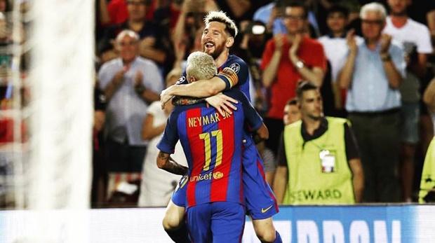 MSN tỏa sáng, Barca hủy diệt Celtic với tỷ số 7-0