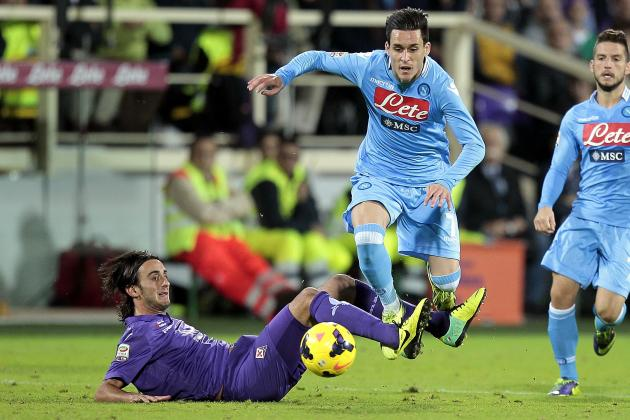 02h45 ngày 25/01, Napoli vs Fiorentina: Trôi về miền đất dữ