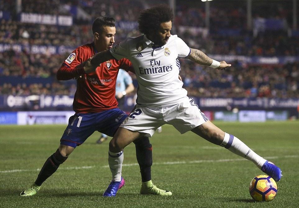Chùm ảnh: Ronaldo lập công giúp Real đánh bại Osasuna
