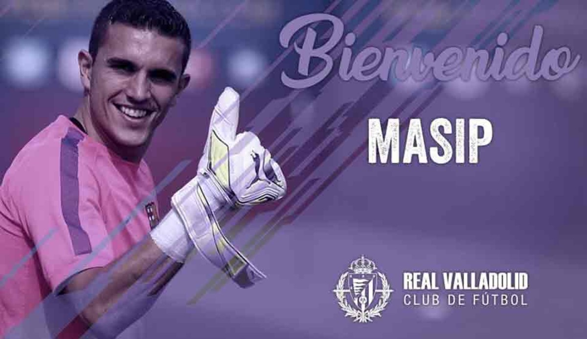 Jordi Masip chính thức gia nhập Valladolid - Bóng Đá