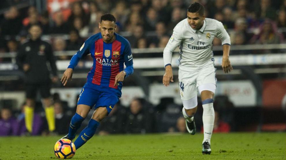 Casemiro chào mời Neymar đến Real Madrid - Bóng Đá