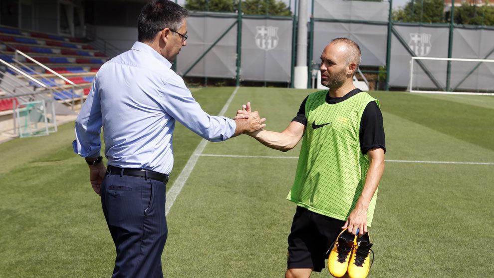 Barca đạt thỏa thuận với Iniesta? - Bóng Đá