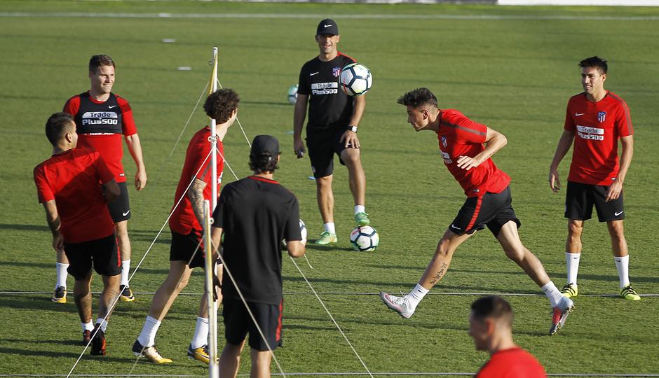 atletico tập luyện - Bóng Đá