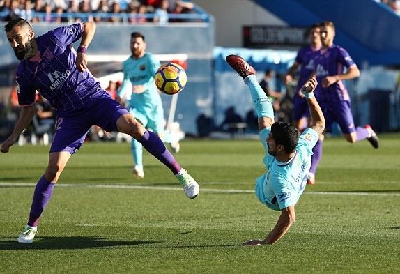 TRỰC TIẾP Leganes 0-1 Barcelona: Suarez thông nòng (Hiệp một) - Bóng Đá