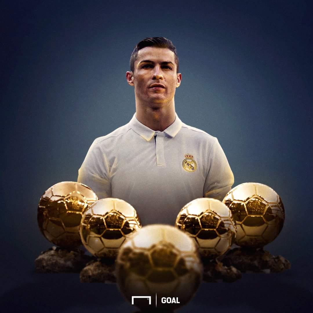 Ảnh ronaldo nhận bóng vàng - Bóng Đá