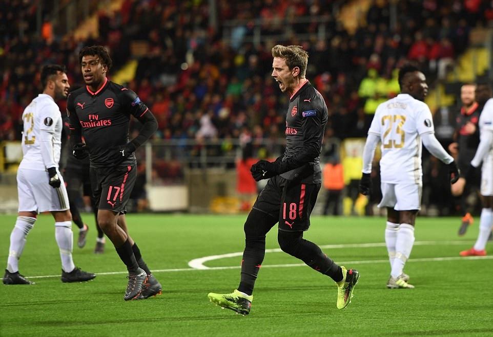 Ảnh sau trận Arsenal - Bóng Đá
