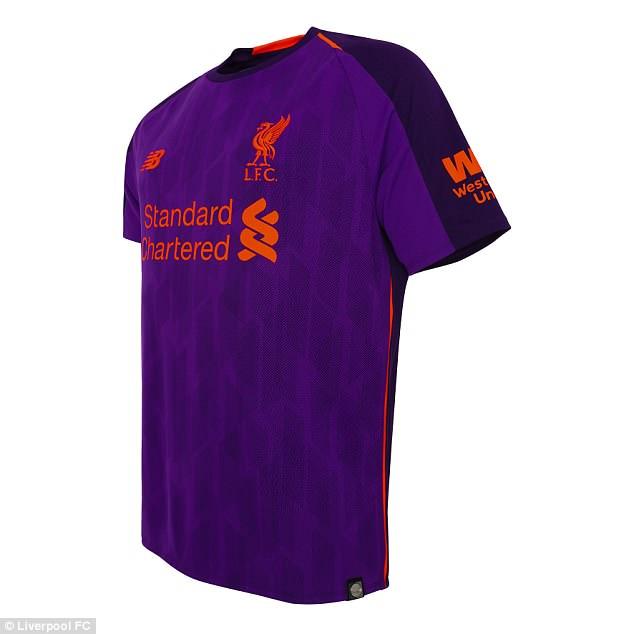 Liverpool ra mắt áo đấu - Bóng Đá