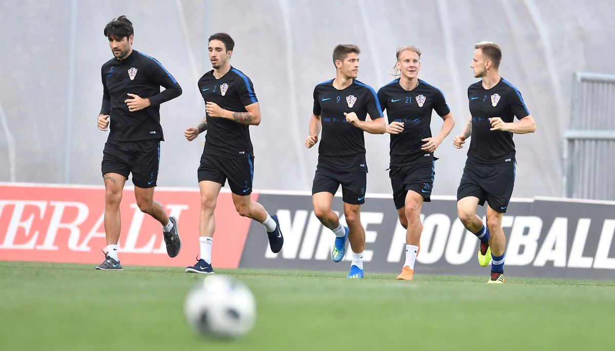 croatia tập luyện - Bóng Đá